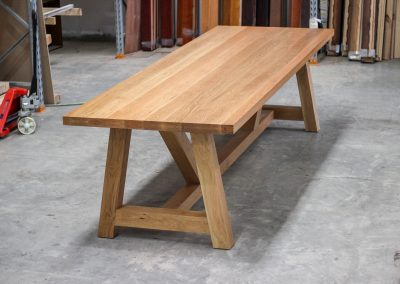 16-seat dining table from American Oak